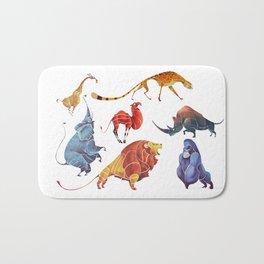 African animals Bath Mat