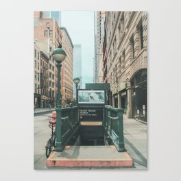 New York City Subway 2 Canvas Print