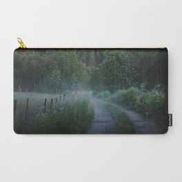 Norwegian Foggy Forest Carry-All Pouch