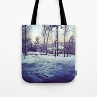 neverland Tote Bags featuring Neverland by Out of Line