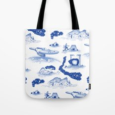 Pop Porcelain- Final Frontier  Tote Bag