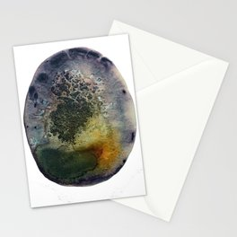 Lockness Agate Watercolor Stationery Cards