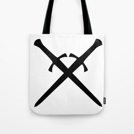Crossed Daggers Tote Bag