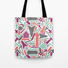 Patterned Arrows Tote Bag