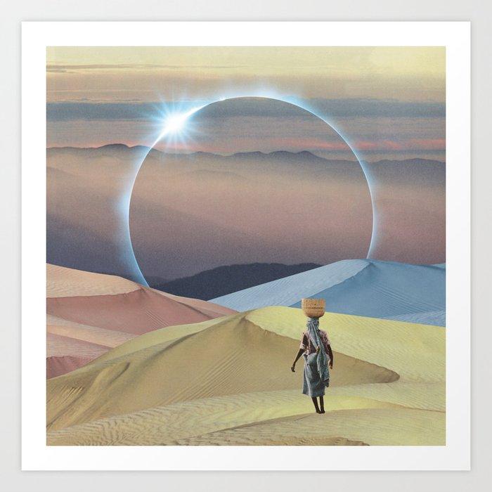Sahara Dream Art Print