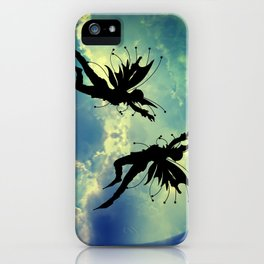 Moon Fairies iPhone Case
