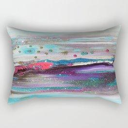 Drippy Waterworld Rectangular Pillow