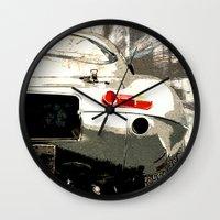 1975 Wall Clocks featuring Jaguar E-TYpe by Fernando Vieira