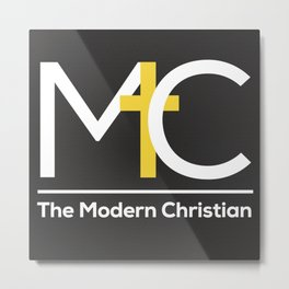 The Modern Christian Logo Metal Print
