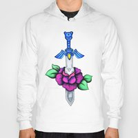 sword Hoodies featuring Master Sword by creativeesc