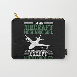 I'm An Aircraft Mechanic Girl Carry-All Pouch