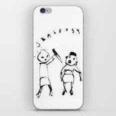 JEALOUSY iPhone & iPod Skin