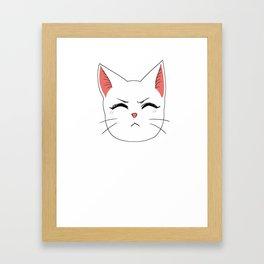 Carla Centered Framed Art Print
