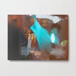Tokyo Rain 3 Metal Print