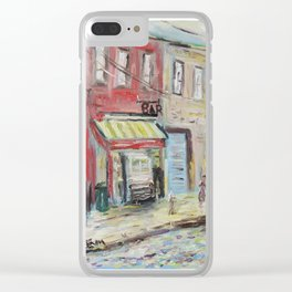 Harlem Blues Bar Clear iPhone Case