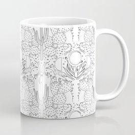 Desert Wallpaper B&W Coffee Mug
