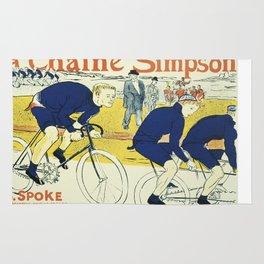 Vintage poster - La Chaine Simpson Rug