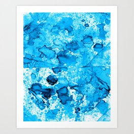 Watercolor series #D6 Art Print