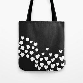 KisseS and HeartS Tote Bag