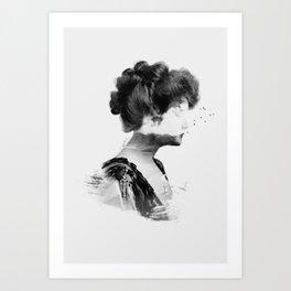 Head 1 Art Print