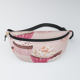 Cupcake muffin bakery  Fanny Pack