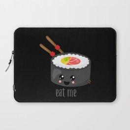 Eat Me in black Laptop Sleeve