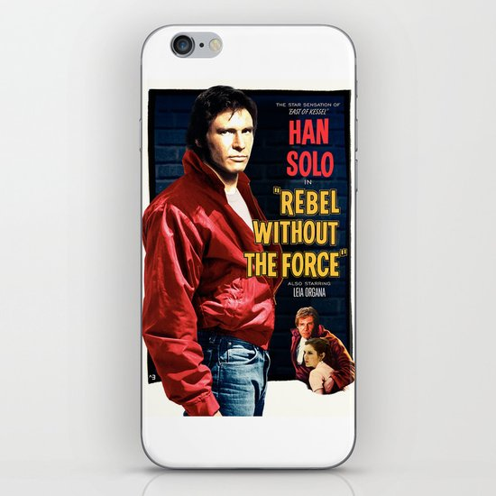 Rebel Without the Force iPhone & iPod Skin