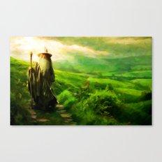 Gandalf's Return - Painting Style Canvas Print