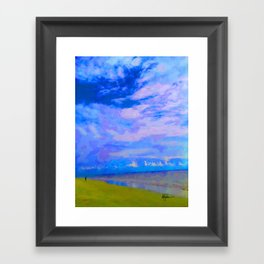 Horizon at Icacos Framed Art Print