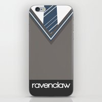 ravenclaw iPhone & iPod Skins featuring Ravenclaw by voldemort