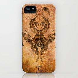 Zodiac:  Gemini iPhone Case