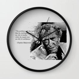BUKOWSKI - people quote Wall Clock