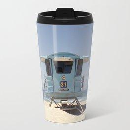 Lifeguard Tower #31 Travel Mug