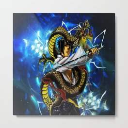 the dragon uciha Metal Print