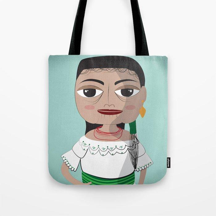 Otavalo women Tote Bag