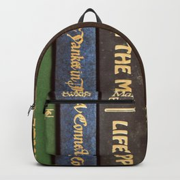 Old Books - Square Twain Backpack