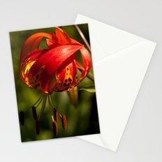 Firery Lily Stationery Cards