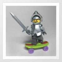 Knight Rider Art Print
