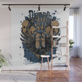 Die With Honor Wall Mural