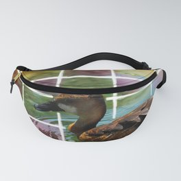Whistling Duck Mosaic Fanny Pack