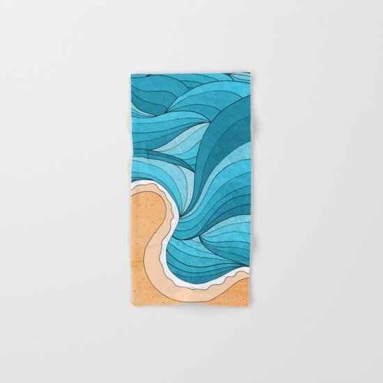Beach Tide Hand & Bath Towel