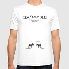 Crazy old Mule / Darth Mule Mens Fitted Tee White MEDIUM