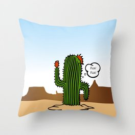PicaChuy Throw Pillow