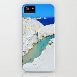 Milos or the Moon iPhone Case