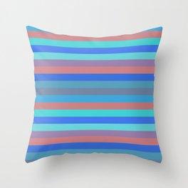 Stripes (Stylized Patterns 9) Throw Pillow