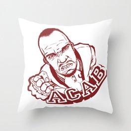 ACAB Throw Pillow