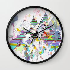 OURS OURS OURS Wall Clock