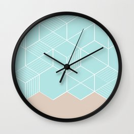 SORBETEMINT Wall Clock