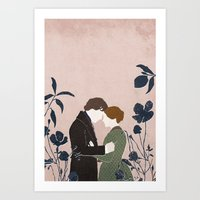 jane eyre Art Prints featuring Jane Eyre by bomrye