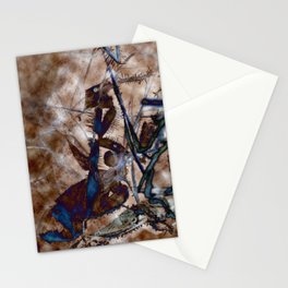 Icescape Abstract Stationery Cards